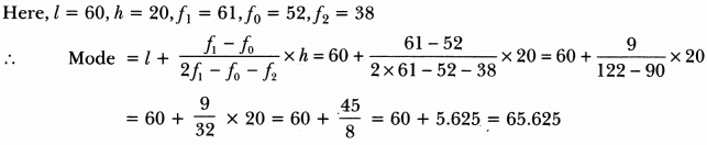 Statistics Class 10 Extra Questions Maths Chapter 14 with Solutions Answers 19
