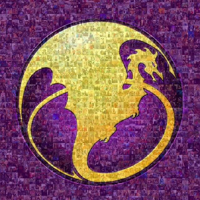 The Dragon Con logo.