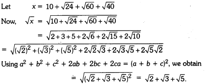 Number Systems Class 9 Extra Questions Maths Chapter 1 with Solutions Answers 11