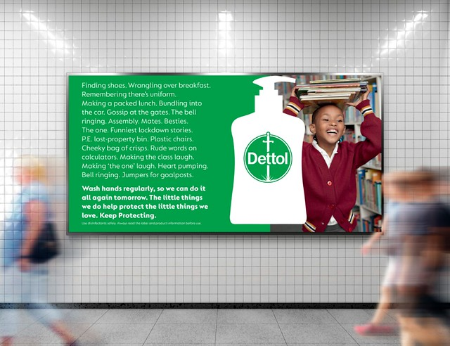 Dettol keep practicing
