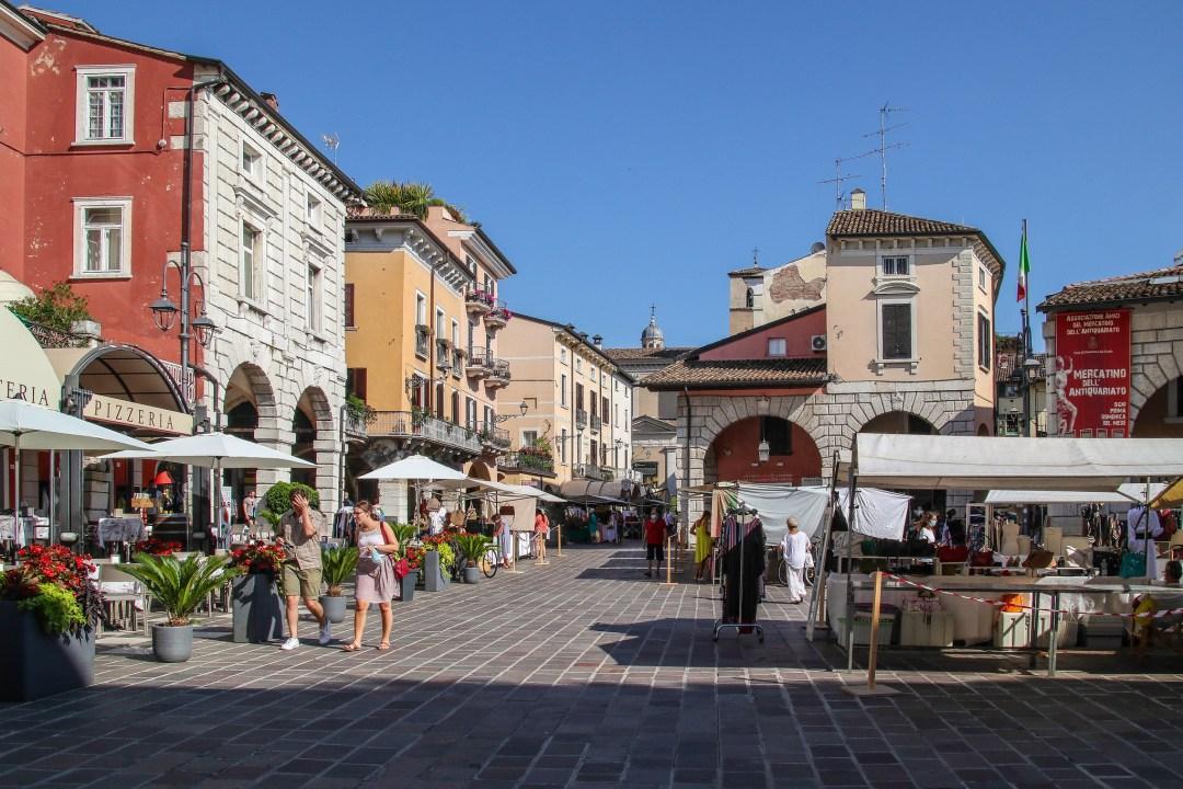 Piazza Malvezzi, Desenzano del Garda