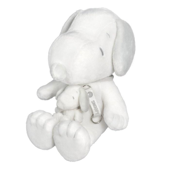 獨家預購:香港地區限定版-白灰色 Snoopy 毛公仔套裝