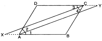 Quadrilaterals Class 9 Extra Questions Maths Chapter 8 with Solutions Answers 13