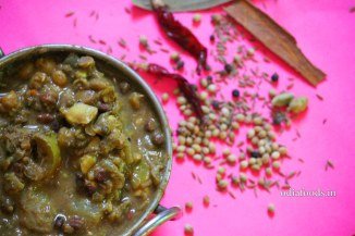 Lite Ghanta Tarkari – Mixed Vegetables Curry