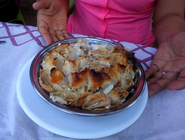 Sırın, a börek-like Elazığ speciality, though we're trying it here in Dersim by bryandkeith on flickr