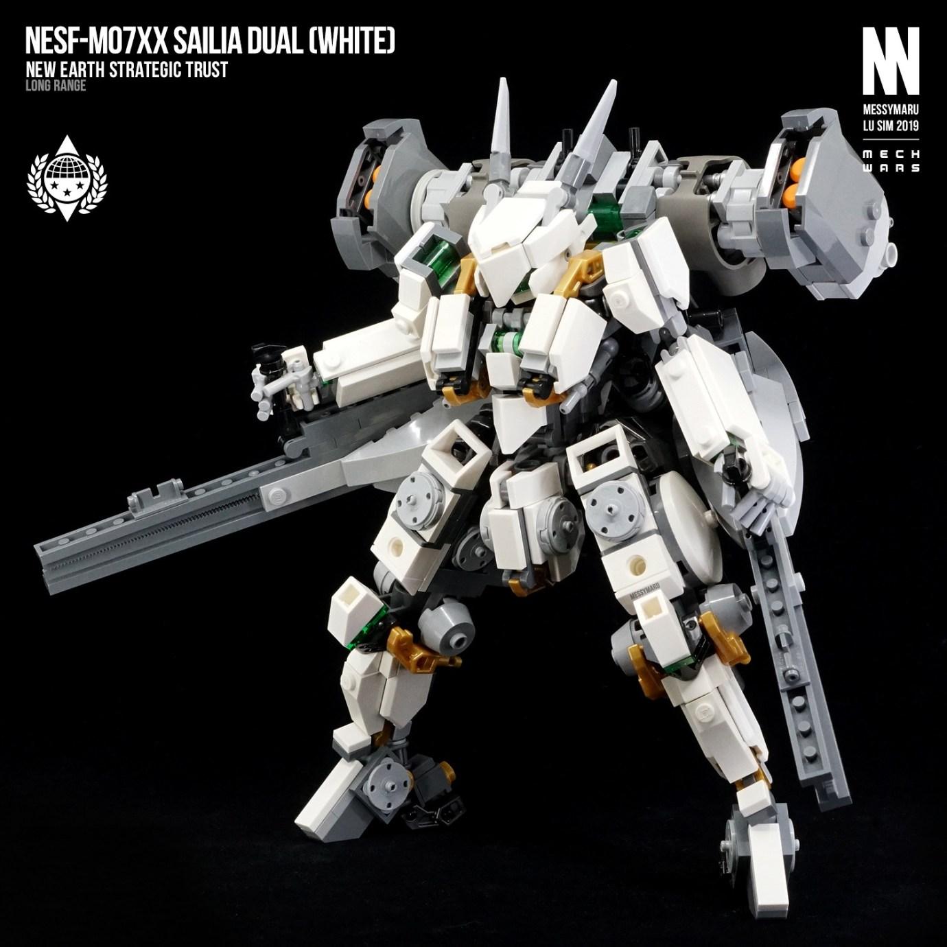 NESF-M07XX Sailia Dual (White Ver.)