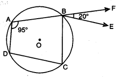 Circles Class 9 Extra Questions Maths Chapter 10 with Solutions Answers 4