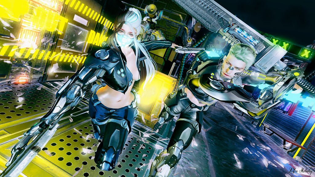 #215 cyber special forces / GABRIEL Gravity GACHA