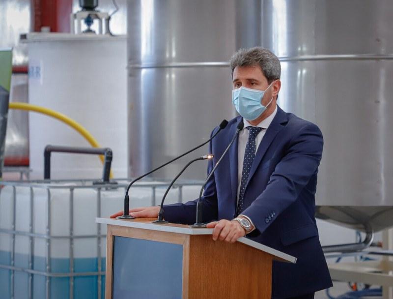 2020-09-14 PRENSA: El Gobernador Uñac inauguró nueva fábrica en el Parque Industrial de Chimbas