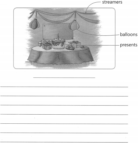 Picture Composition Worksheet Exercises for Class 2 Examples with Answers CBSE 5