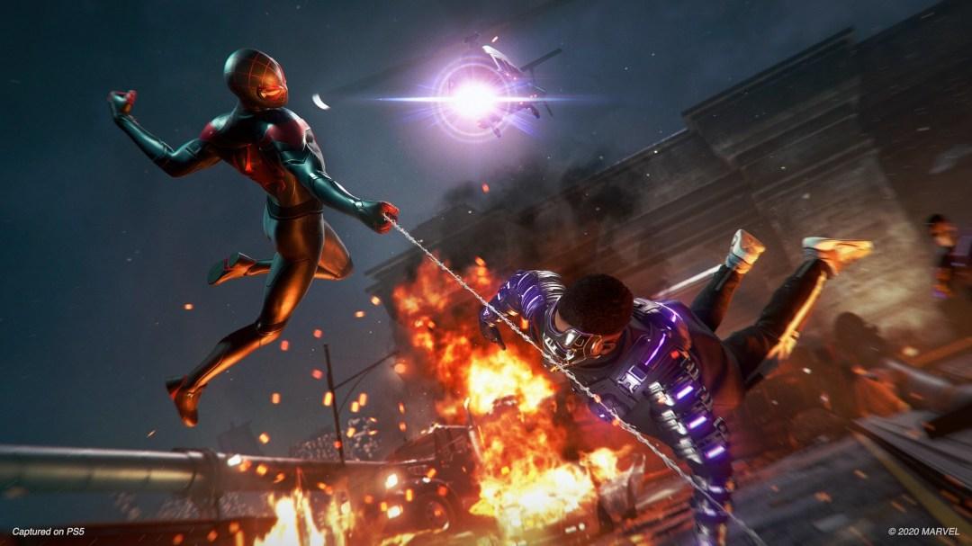 Spider-Man Miles Morales Gameplay