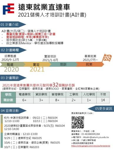 遠東產學專案文宣-2021A-元智(新增亞醫工務處1職缺)