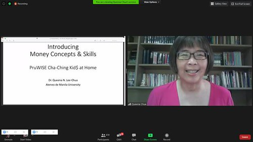 Ateneo Professor and Author Dr. Queena Lee-Chua shares strategies for parents to introduce money concepts to kids.