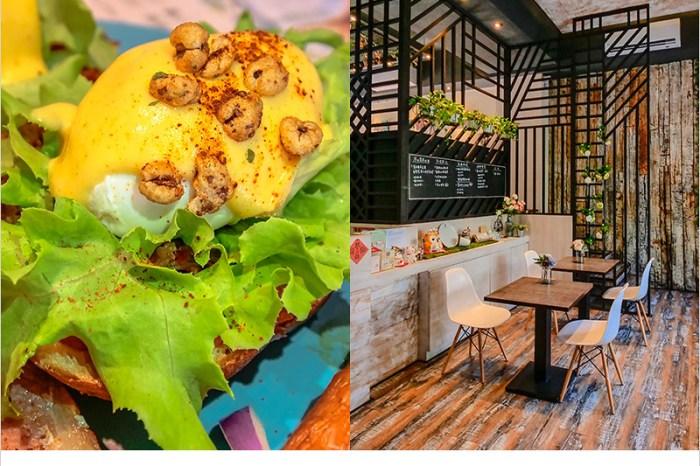 台中北屯早午餐   找晨手作輕食料理(北屯兒童公園店),歐式裝潢,餐點好吃用料實在,有質感的早午餐店。