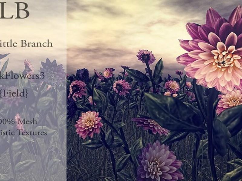 The Little Branch ~ Field of Pink Flowers for Wanderlust Weekend, 50L