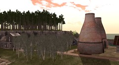 Evening at the kilns