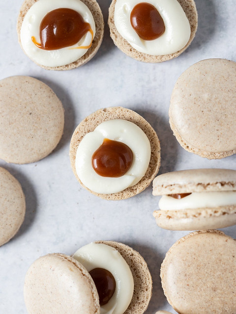 Caramel Pumpkin Spice Cheesecake Macarons BLOG (5 of 7)