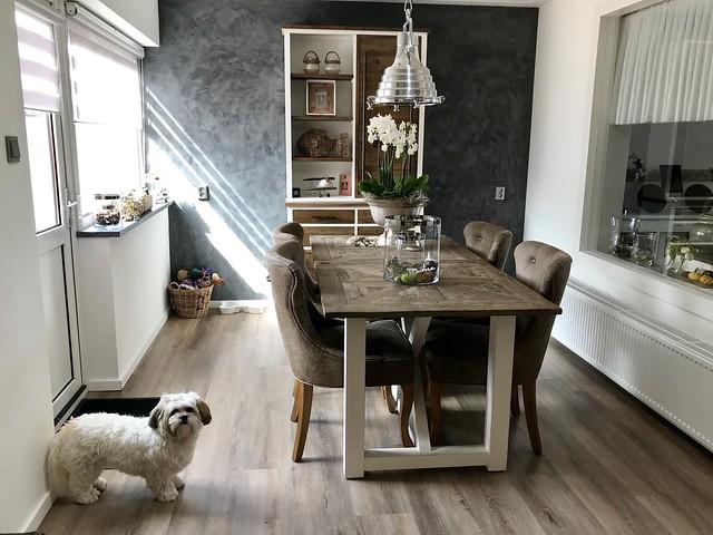 Riviera Maison eetkamer Boomer hondje