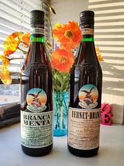 Branca Menta and Fernet Branca