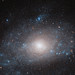Hubble Views a Galaxy on the 'Dark Side'
