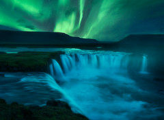 Godafoss Aurora