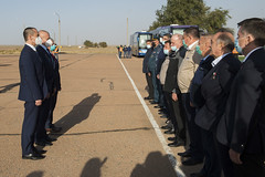 Expedition 64 Arrival in Baikonur (NHQ202009270006)