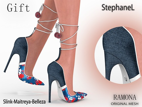GIFT [StephaneL] RAMONA SHOES