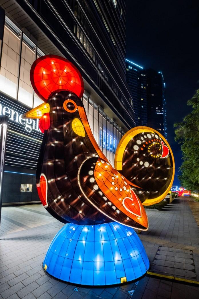 第五屆 澳門國際花燈節 _愛心加路雞LoveGalo