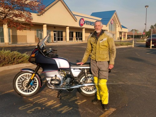 1983 R100RS Public Unveiling At Out First Coffee Shop Ride