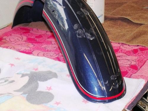 Front Fender Striped