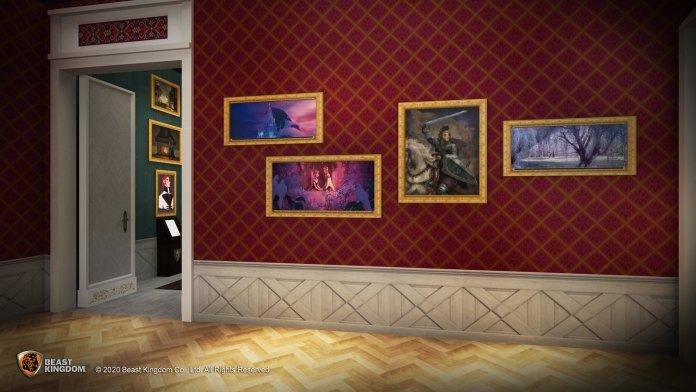 Frozen 城堡迴廊 - 城堡迴廊將展出過百件美術畫稿,包括動畫角色設定及場景設計等,讓粉絲回顧一幕幕精彩情節。