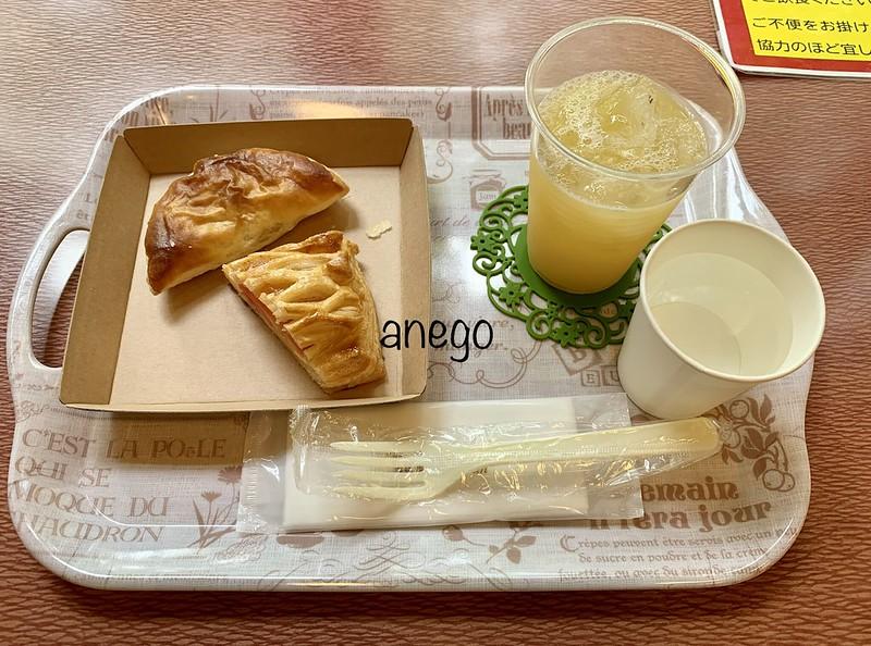 弘前城 アップルパイ