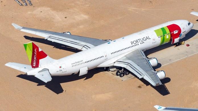 Airbus A340-312 CS-TOD TAP - Air Portugal