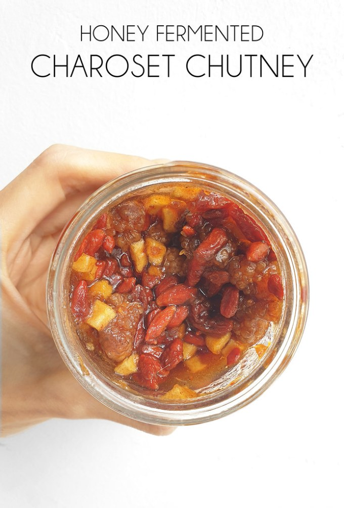 Honey Fermented Charoset Chutney