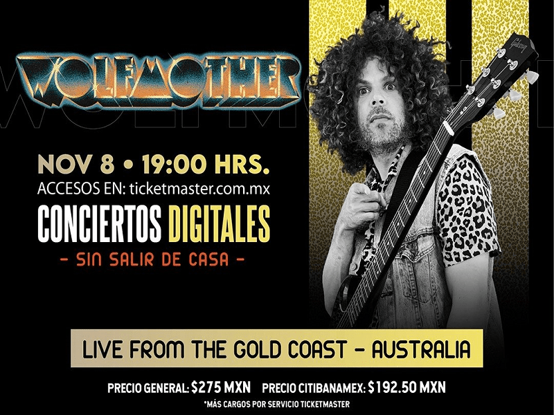 ocesa 2020.11.08 Wolfmother