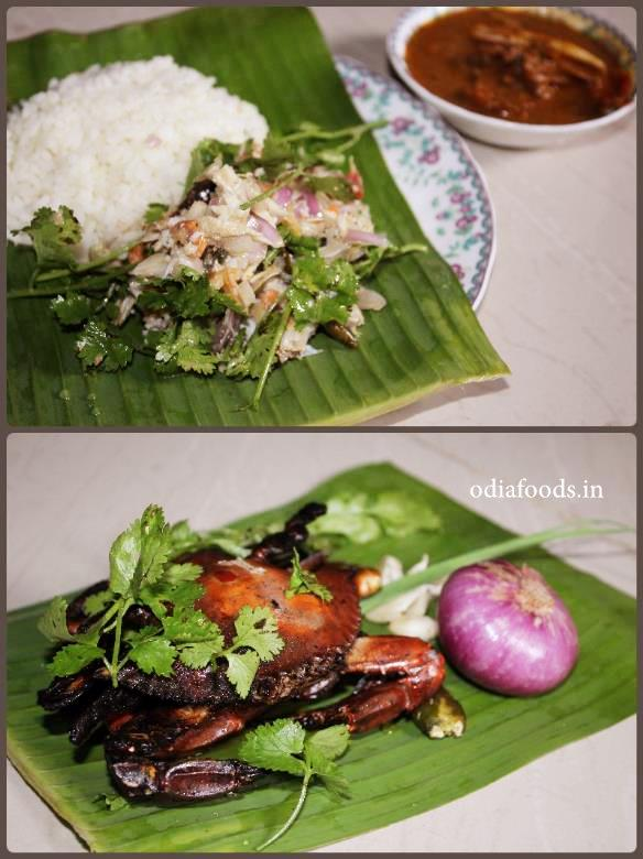Crab Salad – Kankada Salad – Kankada Varta – Roasted crab salad