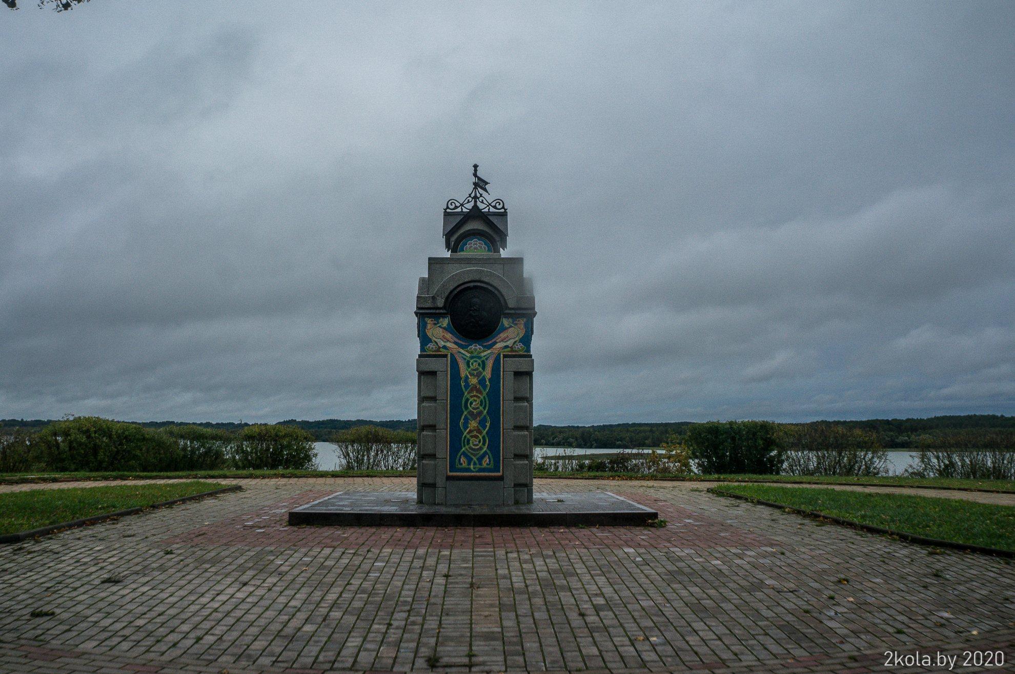 памятник о первом упоминании Себежа в летописи