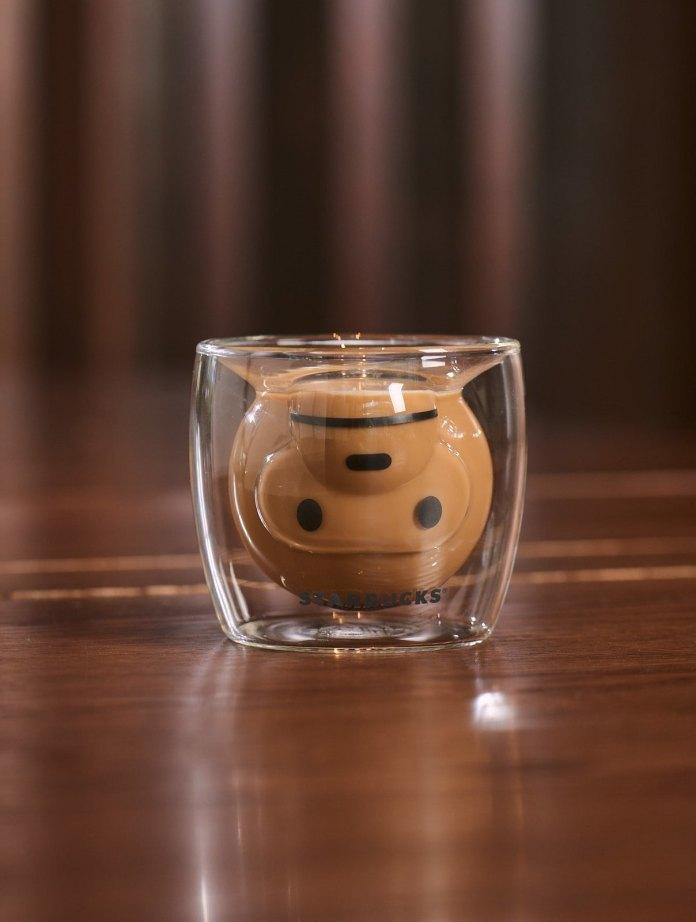 Starbucks_8oz  BABY MILO Double Wall Glass Mug 4