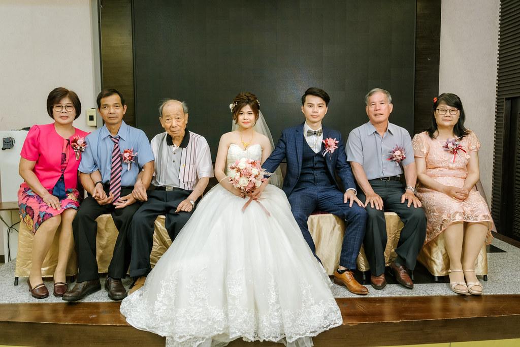 彰化婚攝/田中文仁餐廳婚禮紀錄-凱舟&珮珍