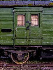 Old goods wagon