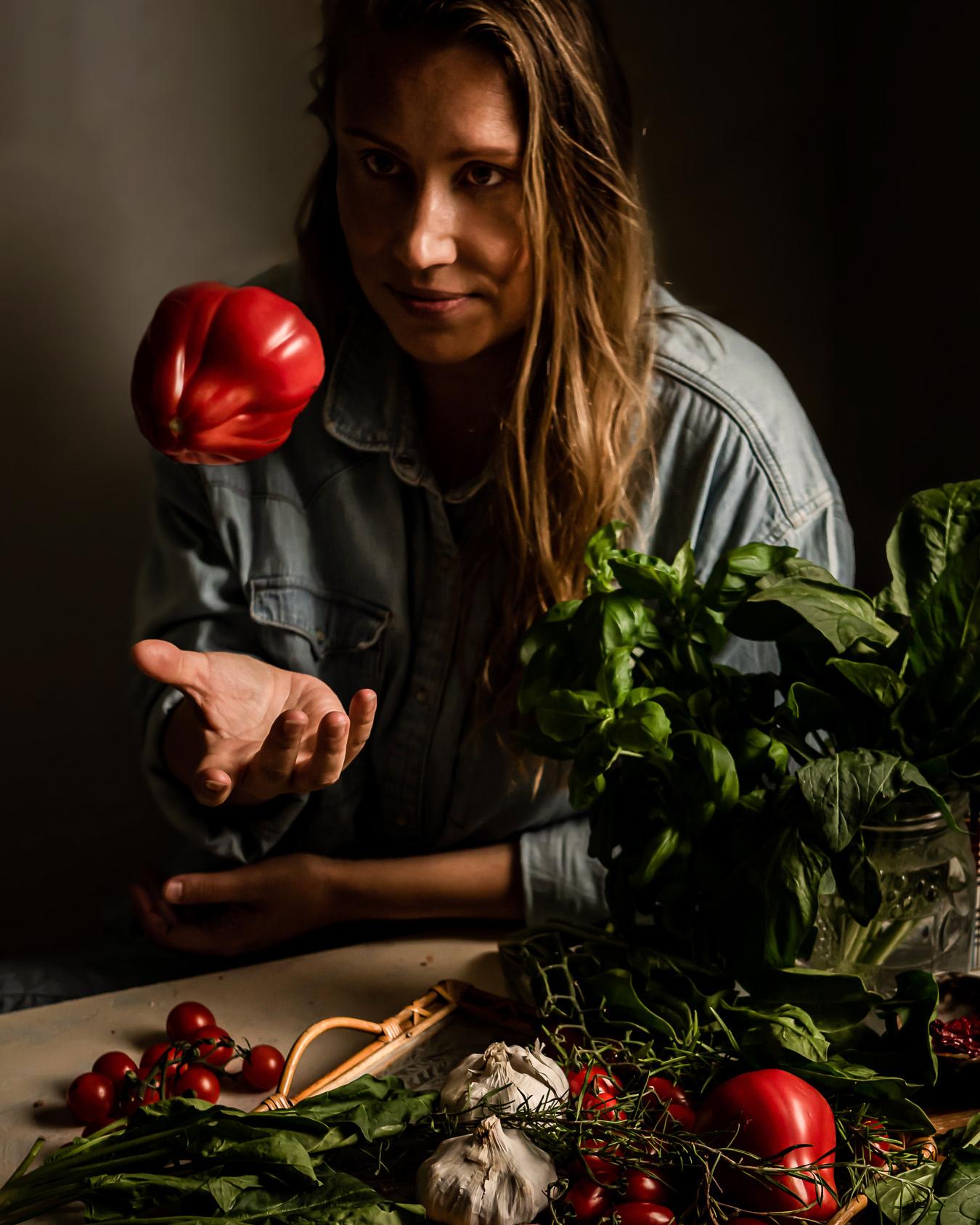 tomaattikastike uunissa