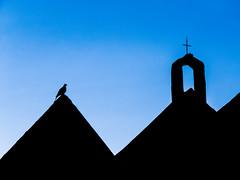 All Saints Church at dusk