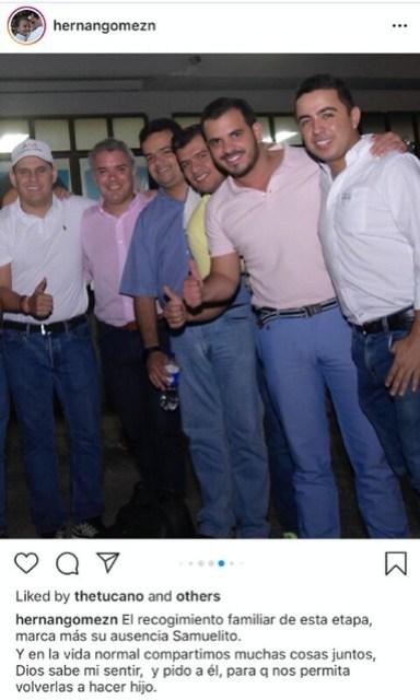 Otra fotografía que prueba la estrecha amistad del piloto del Cartel de Sinaloa con el actual presidente de Colombia, Iván Duque.