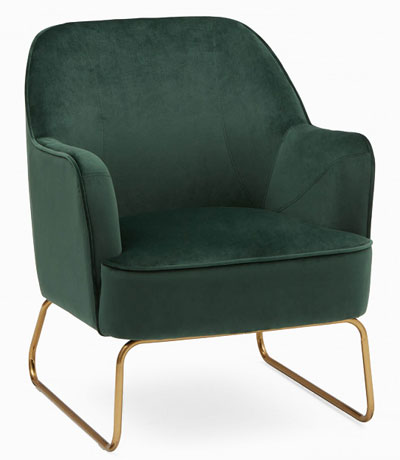 9-home_office_essentials_amazon_ikea_structube_wayfair_etsy_corner_armchair_green_velvet
