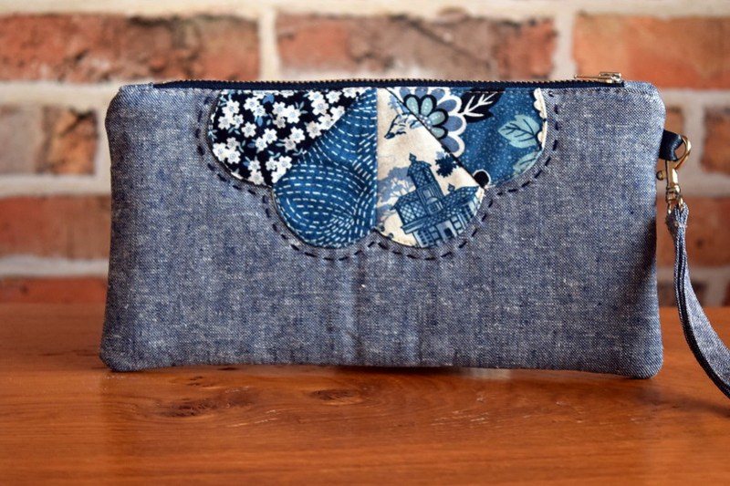 Dresden Petal Pouch (kindred Spirits QAL)