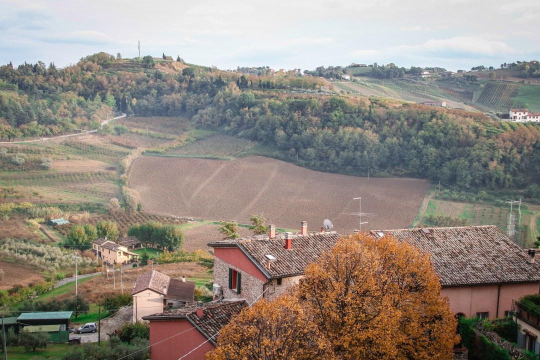 Panorama dal castello malatestiano di Longiano