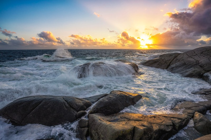 Sol, vind og salt