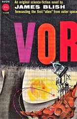 VOR by James Blish. Avon 1958. 160 pages. Cover by Arthur Sussman.