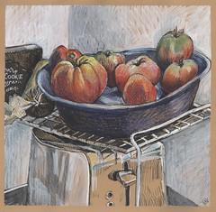 Last Tomatoes Ripening
