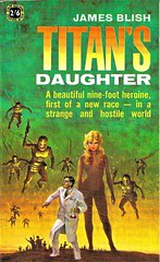 TITAN'S DAUGHTER by James Blish. Four Square 1963. 142 pages.